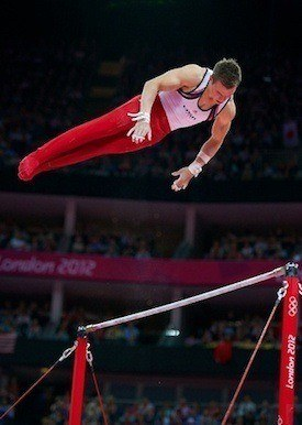 gymnastics horizontal bars vs uneven bars