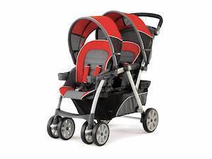 chicco cortina together double stroller reviews