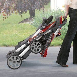 15% lighter than most double strollers