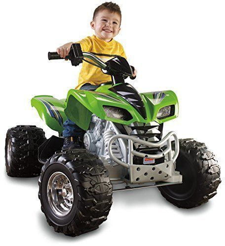 Fisher Price Power Wheels Kawasaki KFX