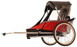 wike bike trailer reviews