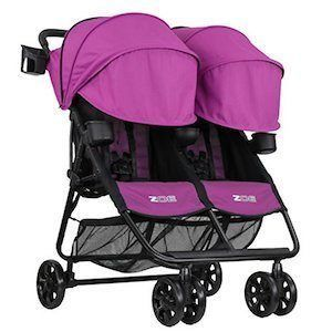 zoe double stroller review