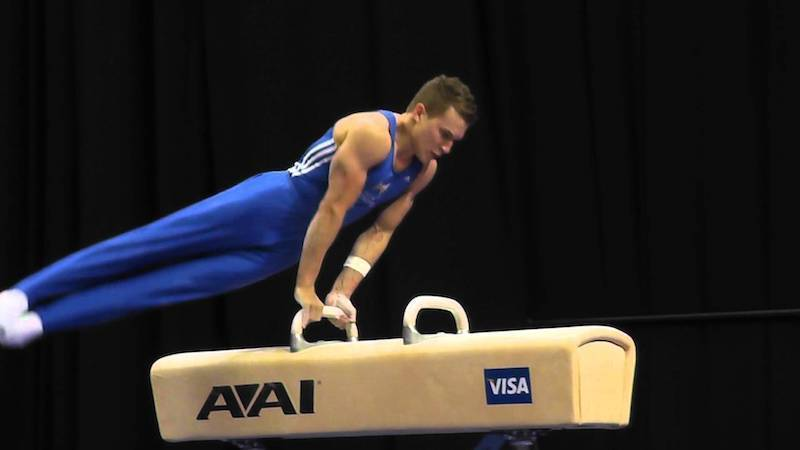 many of pommel horses are coming come with a height adjustment system