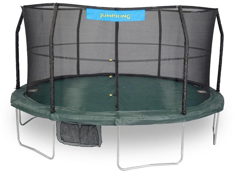 sturdy and safe jumpking trampoline