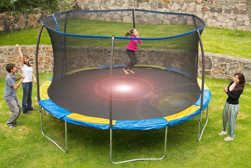 Bounce Pro Trampoline Review The Jump King Is Here