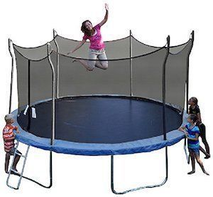 Propel Trampolines P14D-BE Trampoline with Enclosure