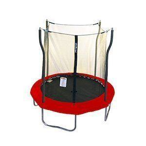 "Propel Trampolines Thick Safety Pad 84"" Trampoline and Enclosure 40 Springs"