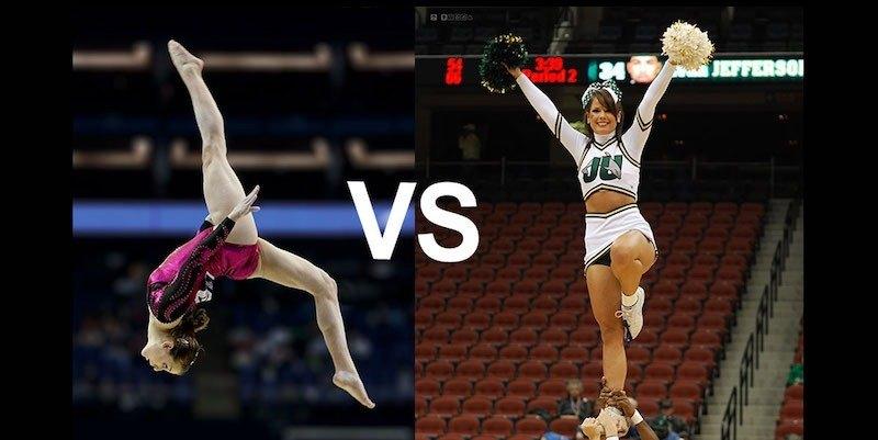 Gymnastics And Cheerleading