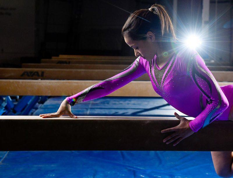 how to get over a mental block in gymnastics
