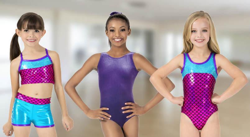 what do gymnast wear