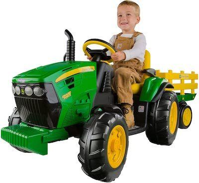 best kids riding tractor