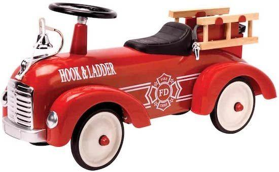 ride on firetruck for toddlers