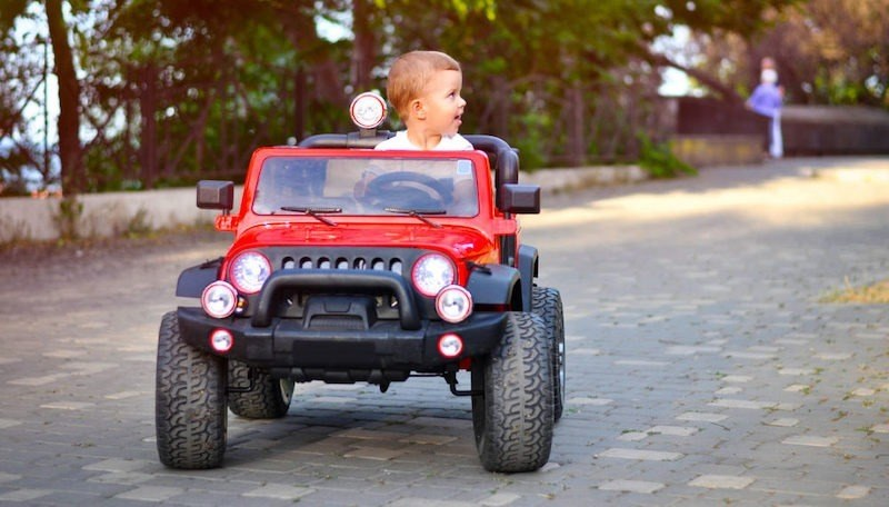 benefits of ride on toys for toddlers