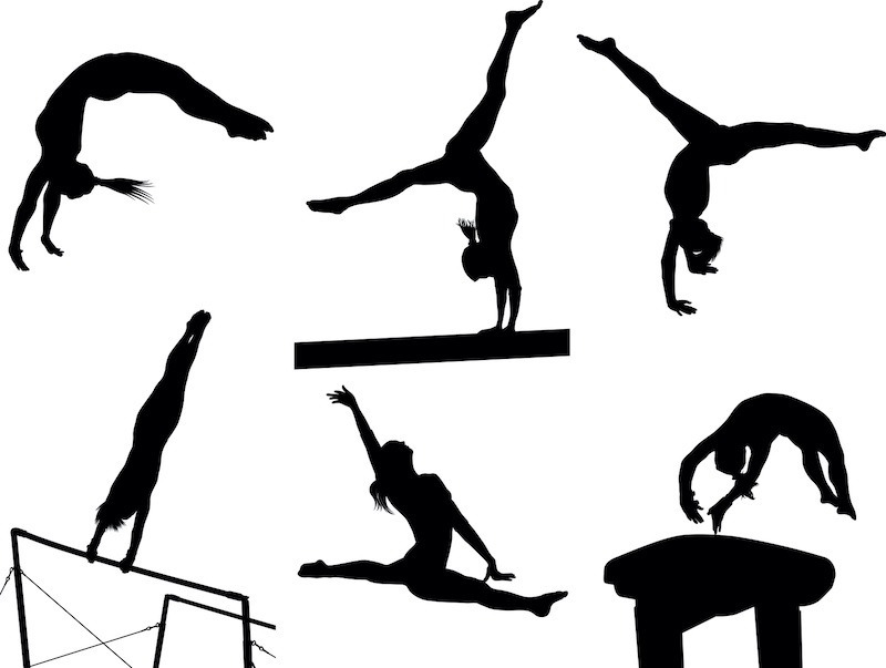 Different Gymnastic Moves