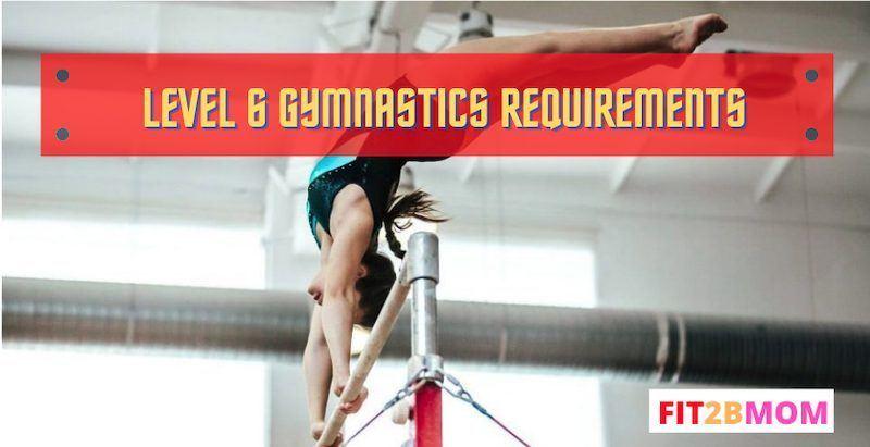 Level 6 gymnastics requirements