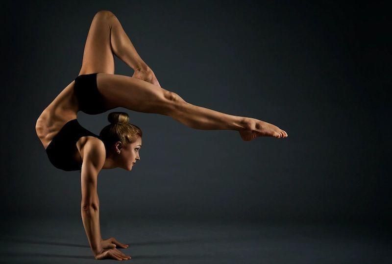 Flexibility in gymnastics